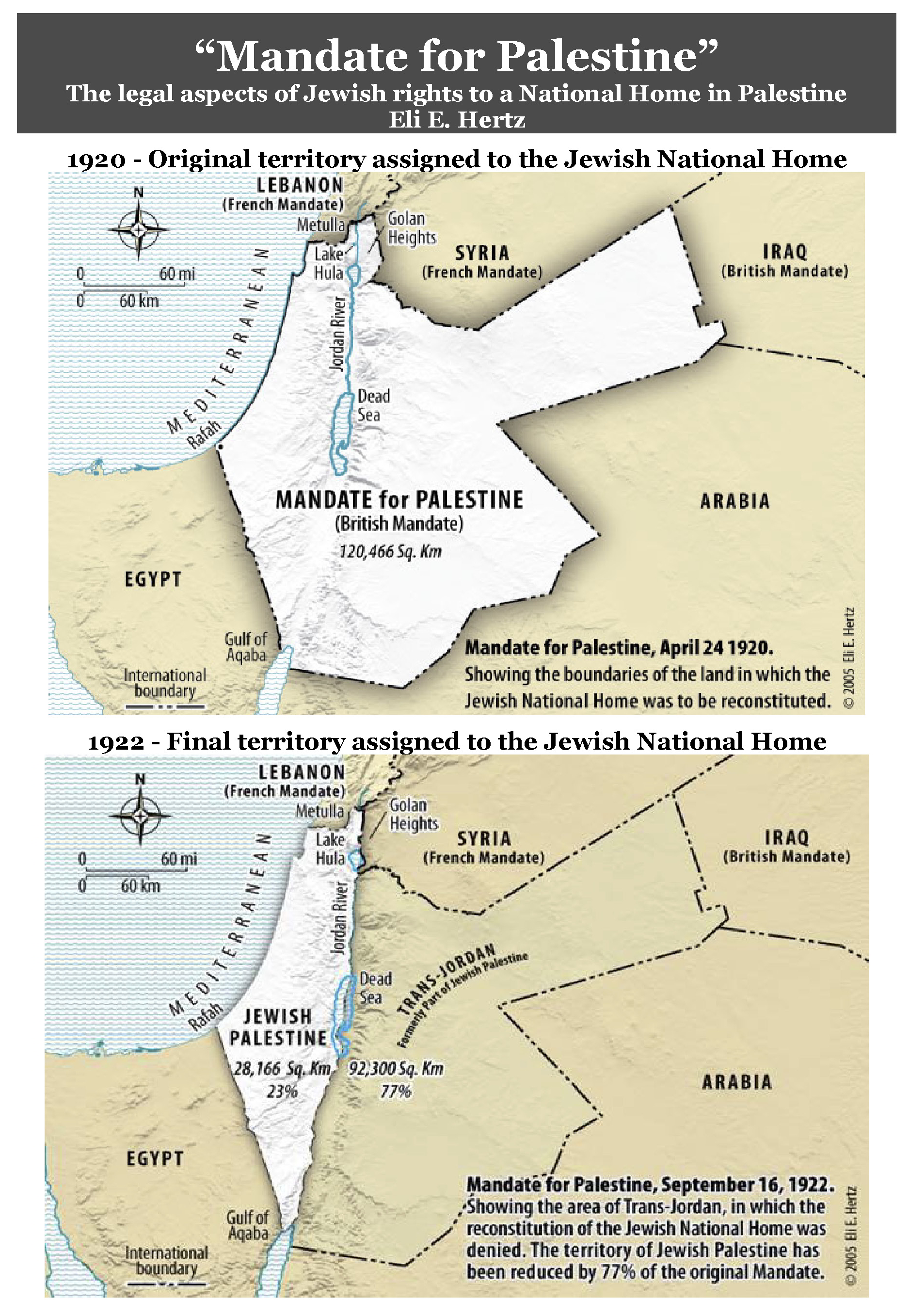 The British Mandate for Palestine 1922 « World-Media-Watch